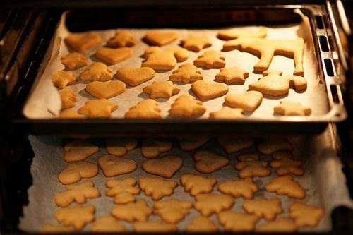 Печенье на противне