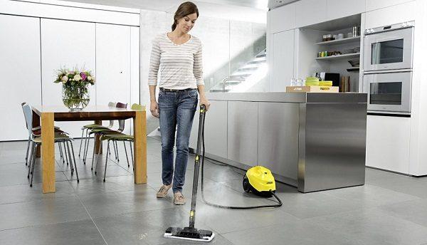 Поддержание чистоты в квартире