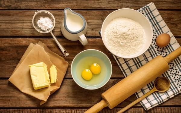 Ингредиенты для вафель