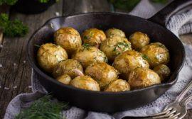 Запеченная картошка в духовке