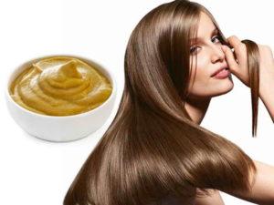 Маска из горчицы для роста волос