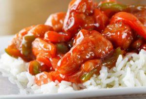 Курица Вок с рисом