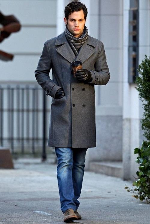 Шарф на мужское пальто