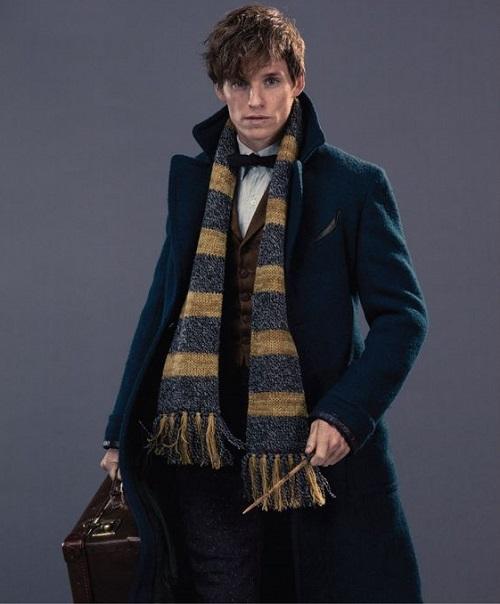 Шарф на пальто мужчине