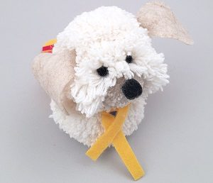 Собака из ниток