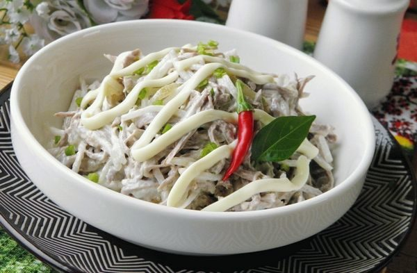 Острый салатик