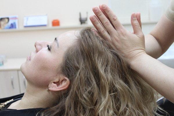 Массаж головы в качестве восстановительной процедуры
