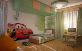 Как подобрать и воплотить интересный дизайн детской комнаты для мальчика
