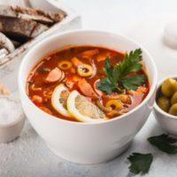 Рецепты приготовления классической сборной мясной солянки