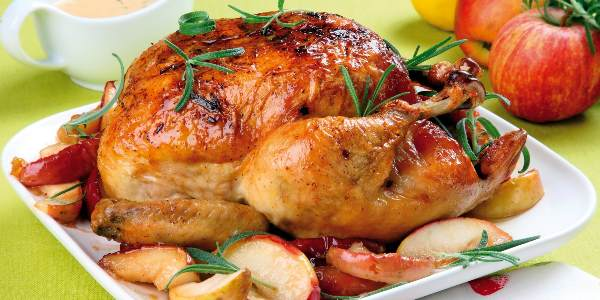 Карамелизированная курица
