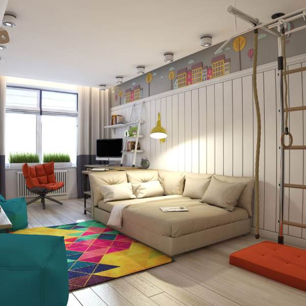 Красивая комната для мальчика