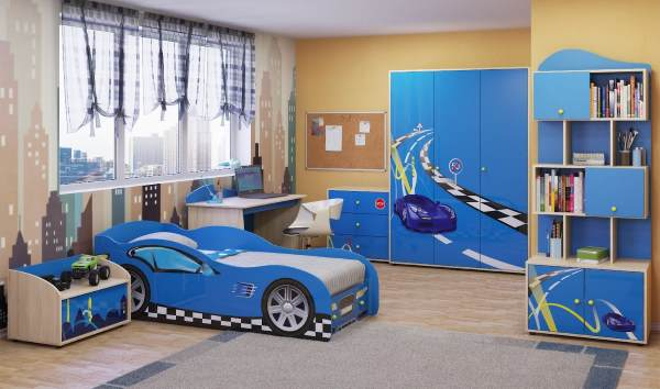 Комната для мальчика дизайн