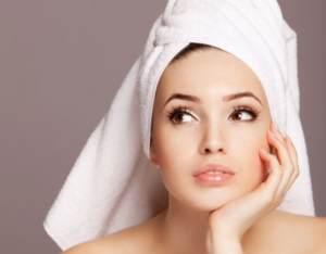 Обернуть голову полотенцем