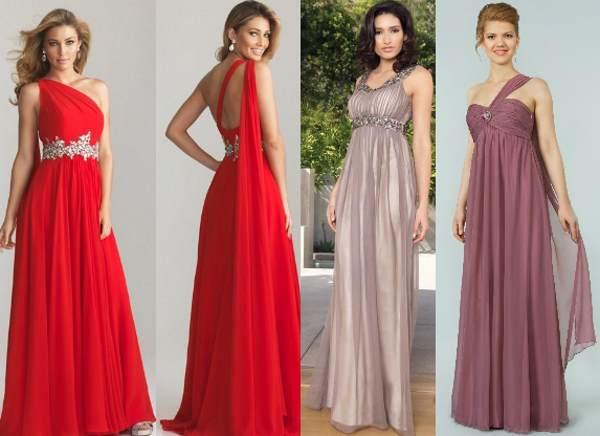Стильные греческие платья
