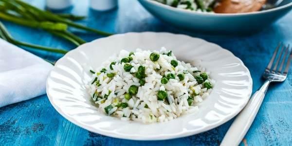 Рис с горошком