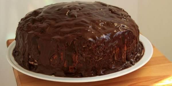 Торт в шоколаде