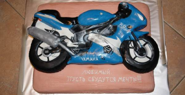 Торт-мотоцикл