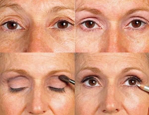 Возрастной макияж