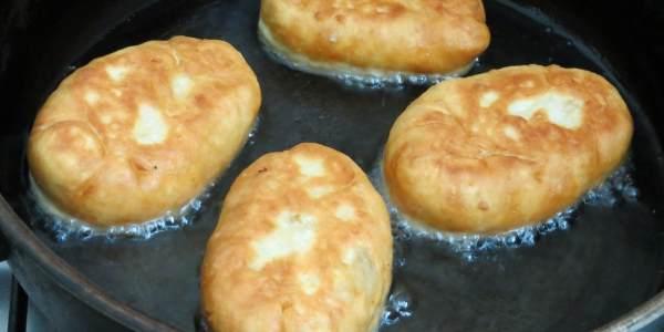 Жаренные пирожки