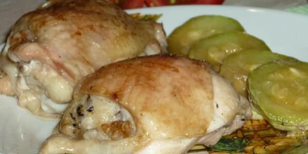 Курица с кабачками