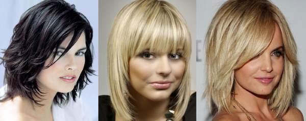 Варианты причесок на средние волосы
