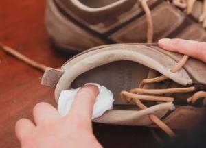 Протереть обувь