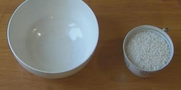 Стакан риса