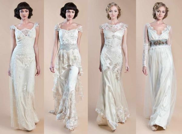 Свадебные ретро-платья