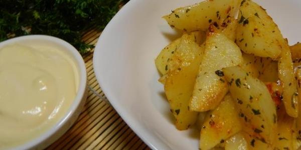 Готовый картофель