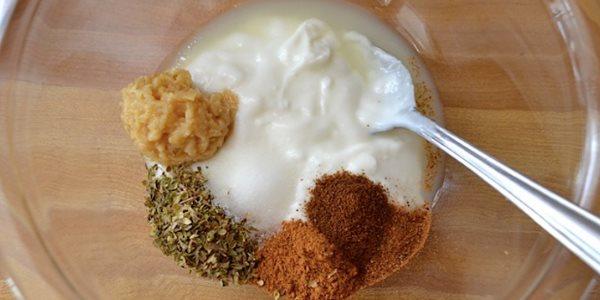 Маринад с йогуртом