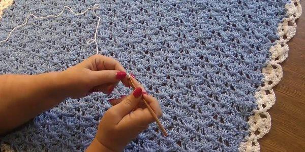 Вязание пледа