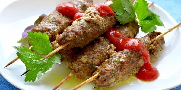 Люля-кебаб из духовки