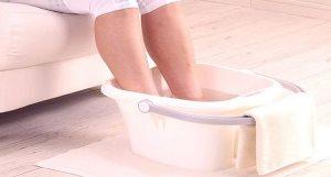 Ванночки с уксусом