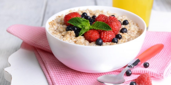 Завтрак из овсянки