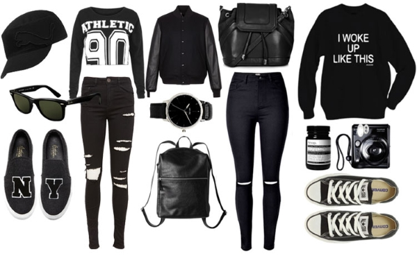 Сочетание одежды