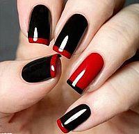красно-черный дизайн