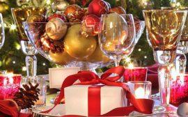 правильная сервировка новогоднего стола