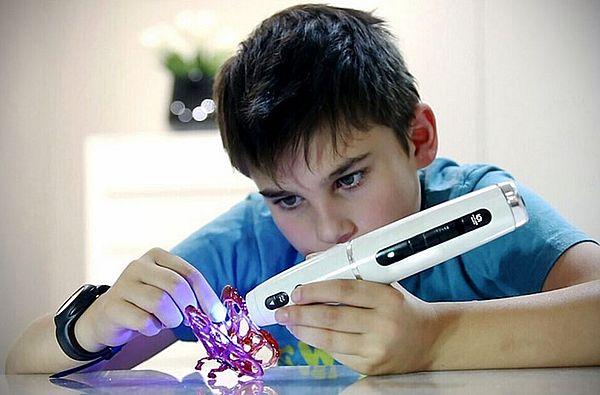 3d-ручка в подарок для ребенка