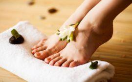 Ноги без запаха пота