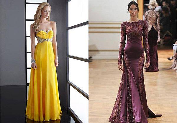 варианты платьев для нового года