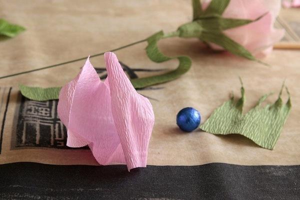 Материалы для изготовления розы