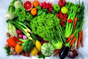 Овощи и фрукты для питания