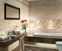 Дизайн плитки в ванную комнату