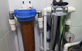 Проточный фильтр для очистки воды