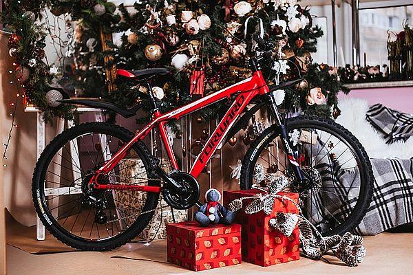 велосипед как новогодний подарок