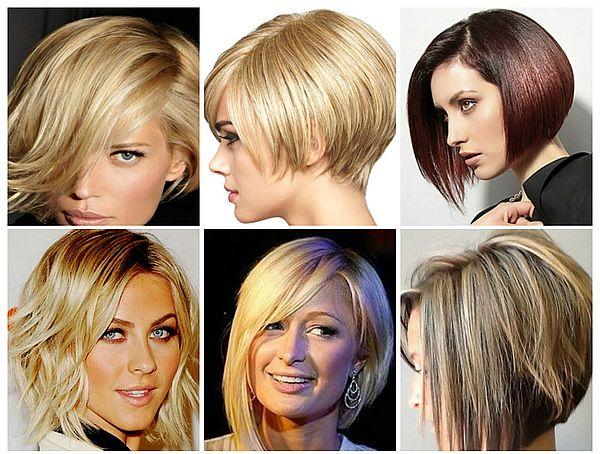 варианты стрижек на короткие волосы