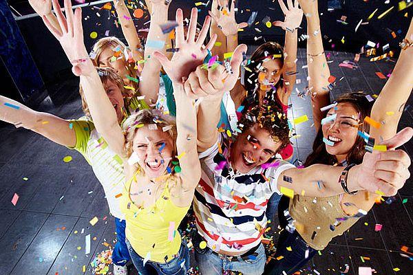 развлечения для подростков на Новый год
