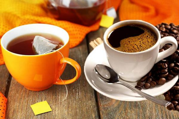 Кофе и крепкий чай