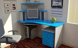 Письменный стол из пластика
