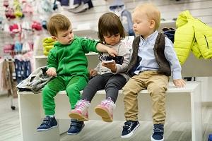 Покупка обуви ребенку